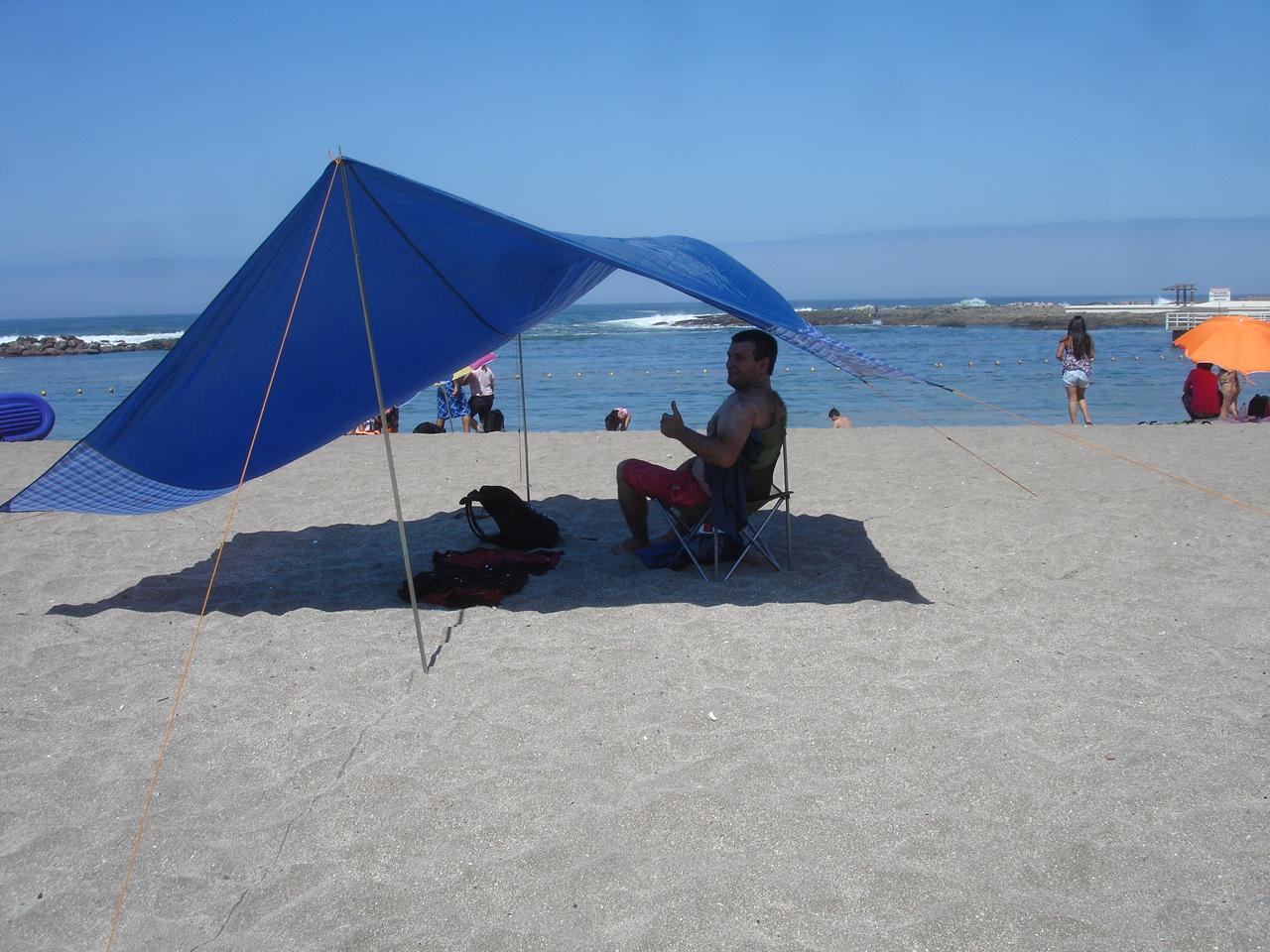 Diciembre 2012 compartiendo america - Toldos para la playa ...