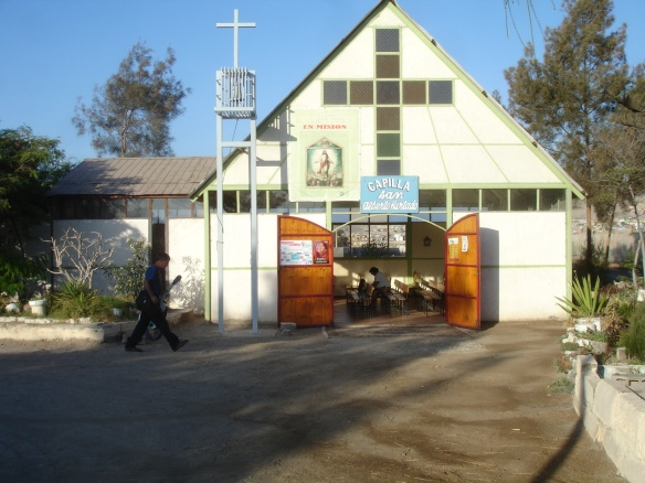 capilla padre Hurtado