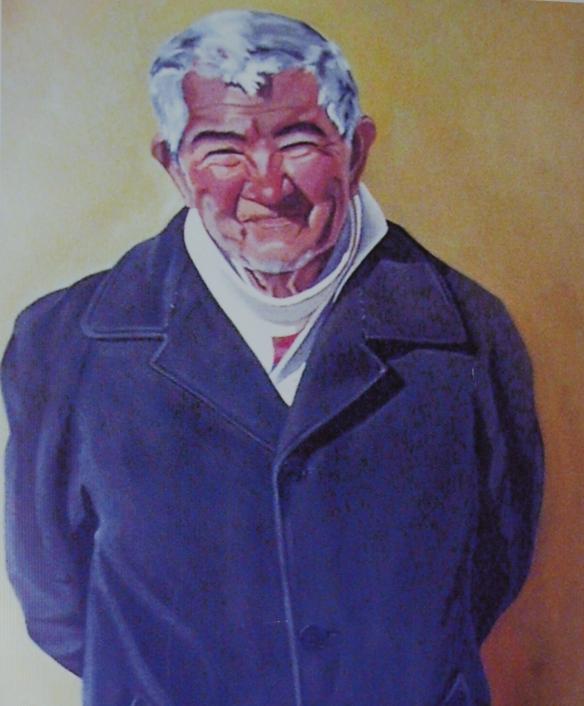 Retrato de un Abuelito del Hogar