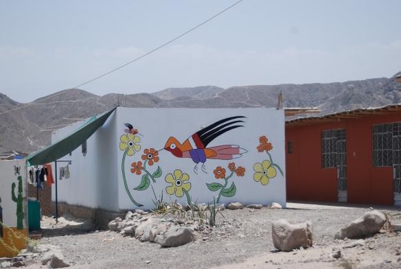 """""""El colibri"""", de las lineas de Nazca"""