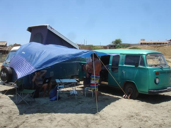 campamento en Lobitos