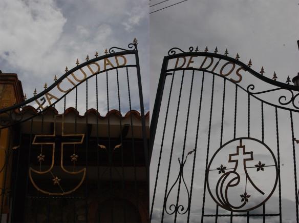entrada a la Ciudad de Dios