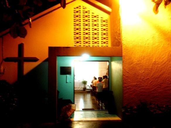 Santo Rosario en la Capilla de la Inmaculada
