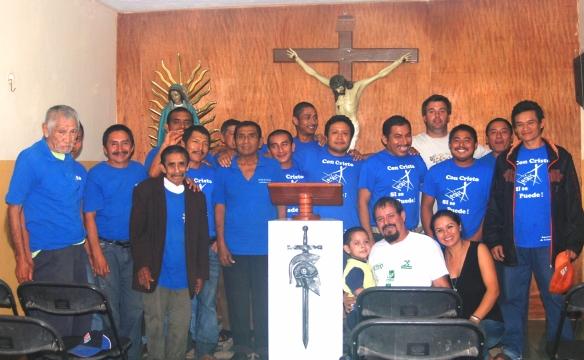 Guerreros de Cristo, Antonio, Teresa y Marco Antonio